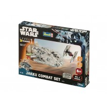 Plastic Kit Revell Star Wars Build & Play Item D Jakku Comcat Set 06758
