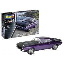 Plastic Kit REVELL 1970 Plymouth AAR Cuda 1/25  scale 07664