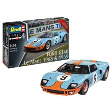 Revell 1/24 Ford GT 40 Le Mans 1968 Limited Edition 07696