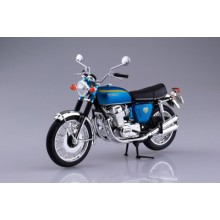 Aoshima 1/12 Honda CB750FOUR(K0) Candy Blue DIE CAST and PLASTIC READY BUILT MODEL