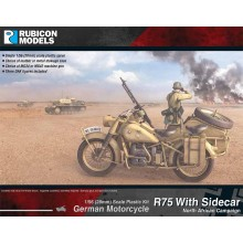 Rubicon Models R75 with Sidecar Kit