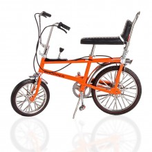 Toyway Chopper Mk 1 Bicycle is a diecast model - 1/12 scale - ORANGE