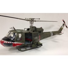 UH-1 Huey C 174th Assault Helicopter Co Shark (B&P) 1:18