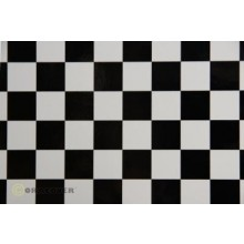 Orastick Check Black and White Covering