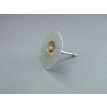 40mm DIAMOND DISC WITH MANDREL