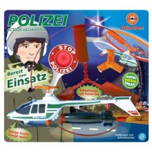 Gunther Police Action Free Flight Helicopter