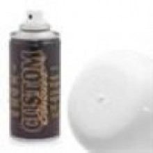 Custom Colour Polycarbonate Spray Paint - White