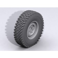 1x Dirt Grabber Single 1.9 inch All Terrain Tire G2 Gelande II SPARE Tyre RC4WD