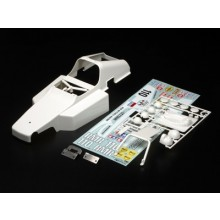 Tamiya Rc Body Set Buggy Champ With Decals (white unpainted)
