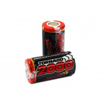 Overlander 2000mah 1.2V SubC single cell - SKU 2668