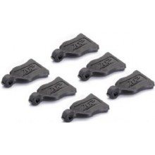 Clip-Grip 6Pcs Black