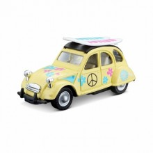 Tobar 4.5 1952 CITROEN 2cv Hippy Diecast Car 1:32