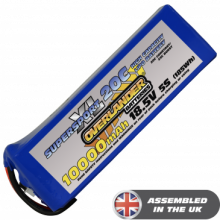 10000mAh 5S 18.5v 20C Lipo Battery - Overlander SupersportXL