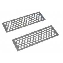 Absima Metal Sand Plates - Silver
