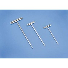 Nickle Plated T-Pins x 100 DB252