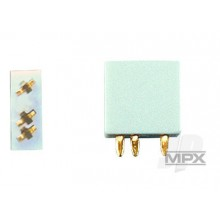 3-Pin Socket 5pcs (Multiplex ) 85221