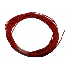 4mm Soft Silicone Wire 12AWG Red - 25m Roll - SKU 2859