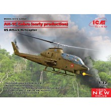 ICM 1/32 Bell AH-1G Cobra (Early Production) US Attack Helicopter 32060