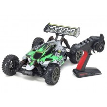 KYOSHO INFERNO NEO 3.0VE 1:8 RC BRUSHLESS EP READYSET - T2 GREEN