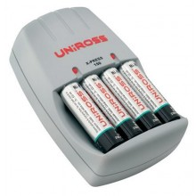 UniRoss X-Press 150 Classic Charger inc 2 rechargable 9v 170mAh Batteries
