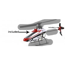 E-FLITE Blade mSR X BNF Helicopter Spare Canopy (Canopy Only) (Box 11)