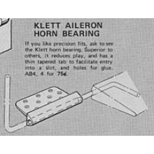 Klett Aileron and elevator horn Bearing 421
