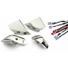 Absima  Chrome LED Light Bucket Set for 1/10 Touring Cars