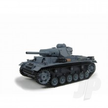 Heng Long 1:16 German Panzer III (2.4GHz+Shooter+Smoke+Sound) (1 Only Ex Display)