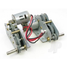 Tiger I/Panther Metal Gearbox/Motor Set (3818/19)