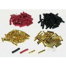 4mm Gold Connector Bulk (50 Pairs + Shrink)