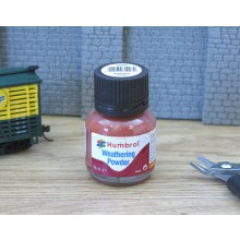 Humbrol Weathering Powder 28ml Iron Oxide