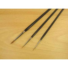 Sable Paint Brushes - Size 4/0