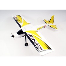 Max Thrust Riot V2 RTF - Yellow (2.4GHz Radio and 11.1v Batt)