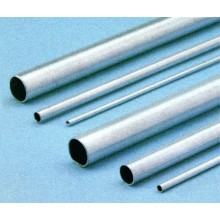 Aluminium tubing 8 0/7 1 mm - 1 metre long