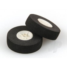 30mm Sponge Wheel - White Centre (2)
