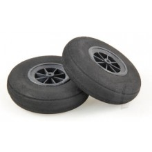 100mm Rounded Sponge Wheels (2)