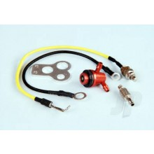 Remote Glow Lead with Fuel Valve & Mount Set
