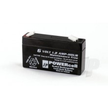 6V-1.2 Ah Lead Acid Powercell Gel Battery