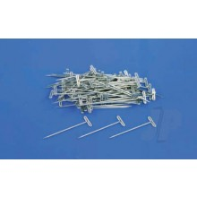 Dubro DB253 1 ½ inch (32mm) length T-Pins (Nickel Plated)