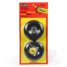 Dubro J3 1/4 scale wheels pair