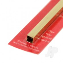 8155 1/4 x .014 Square Brass Tube (1)