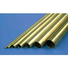 1152 11/32 Round Brass Tube .014 Wall 36in (4)