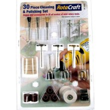 R/C9002 30pc Cleaning & Polishing Set