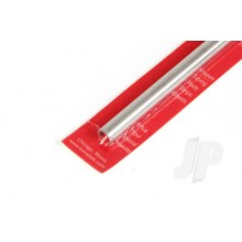 9811 9mm x .76mm Wall Aluminium Round Tube 300mm (1)