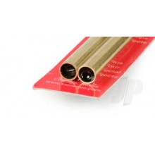 9826 8mm x .45mm Wall Brass Tube (300mm) (2)