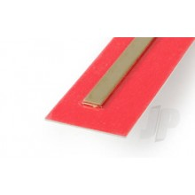 9840 .5mm x 6mm Wide Brass Strip (300mm) (3)