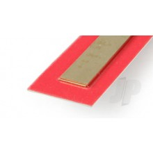 9841 .5mm x 12mm Wide Brass Strip (300mm) (3)