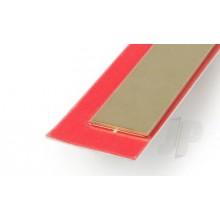 9842 .5mm x 18mm Wide Brass Strip (300mm) (3)