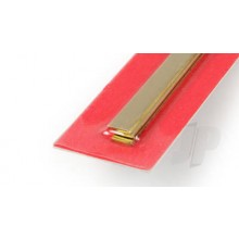 9843 1mm x 6mm Wide Brass Strip (300mm) (3)