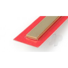 9844 1mm x 12mm Wide Brass Strip (300mm) (3)